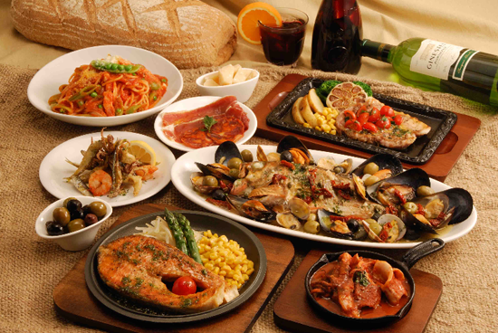 地中海料理にはEDを治すテストステロンが豊富に含まれる